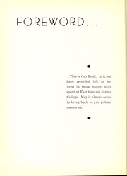 Page 8, 1939 Edition, East Central Community College - Wo He Lo Yearbook (Decatur, MS) online yearbook collection