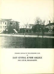 Page 6, 1951 Edition, East Central Community College - Wo He Lo Yearbook (Decatur, MS) online yearbook collection