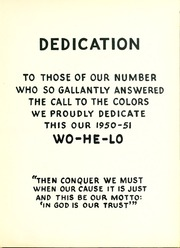 Page 9, 1951 Edition, East Central Community College - Wo He Lo Yearbook (Decatur, MS) online yearbook collection