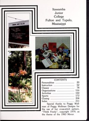 Page 5, 1983 Edition, Itawamba Community College - Mirror Yearbook (Fulton, MS) online yearbook collection