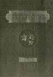 Appalachian State University - Rhododendron Yearbook (Boone, NC) online yearbook collection, 1926 Edition, Page 1