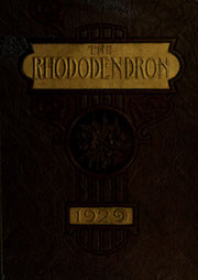 Page 1, 1929 Edition, Appalachian State University - Rhododendron Yearbook (Boone, NC) online yearbook collection