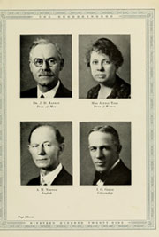 Page 15, 1929 Edition, Appalachian State University - Rhododendron Yearbook (Boone, NC) online yearbook collection