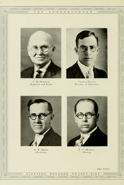 Page 16, 1929 Edition, Appalachian State University - Rhododendron Yearbook (Boone, NC) online yearbook collection