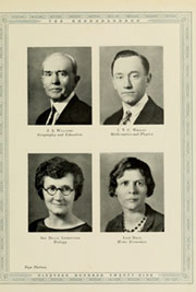 Page 17, 1929 Edition, Appalachian State University - Rhododendron Yearbook (Boone, NC) online yearbook collection