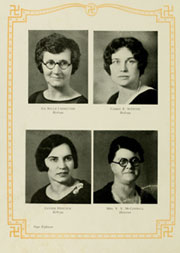 Page 22, 1930 Edition, Appalachian State University - Rhododendron Yearbook (Boone, NC) online yearbook collection