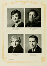 Page 24, 1930 Edition, Appalachian State University - Rhododendron Yearbook (Boone, NC) online yearbook collection