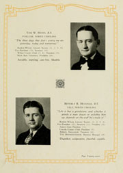Page 31, 1930 Edition, Appalachian State University - Rhododendron Yearbook (Boone, NC) online yearbook collection