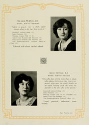 Page 33, 1930 Edition, Appalachian State University - Rhododendron Yearbook (Boone, NC) online yearbook collection