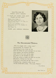 Page 35, 1930 Edition, Appalachian State University - Rhododendron Yearbook (Boone, NC) online yearbook collection