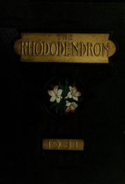 Page 1, 1931 Edition, Appalachian State University - Rhododendron Yearbook (Boone, NC) online yearbook collection