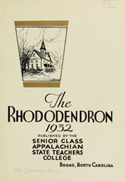 Page 7, 1932 Edition, Appalachian State University - Rhododendron Yearbook (Boone, NC) online yearbook collection