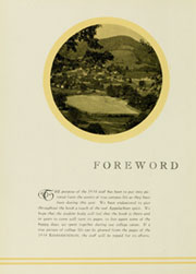 Page 10, 1934 Edition, Appalachian State University - Rhododendron Yearbook (Boone, NC) online yearbook collection