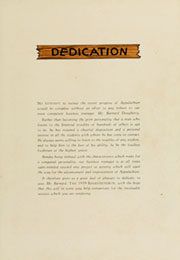 Page 9, 1939 Edition, Appalachian State University - Rhododendron Yearbook (Boone, NC) online yearbook collection