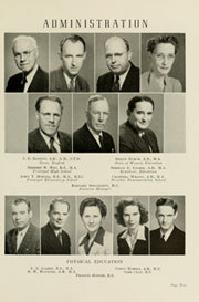 Page 13, 1946 Edition, Appalachian State University - Rhododendron Yearbook (Boone, NC) online yearbook collection