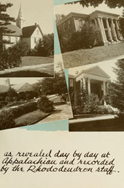 Page 7, 1946 Edition, Appalachian State University - Rhododendron Yearbook (Boone, NC) online yearbook collection