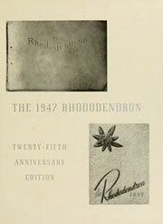 Page 5, 1947 Edition, Appalachian State University - Rhododendron Yearbook (Boone, NC) online yearbook collection