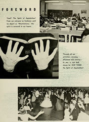 Page 11, 1959 Edition, Appalachian State University - Rhododendron Yearbook (Boone, NC) online yearbook collection