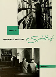 Page 12, 1959 Edition, Appalachian State University - Rhododendron Yearbook (Boone, NC) online yearbook collection