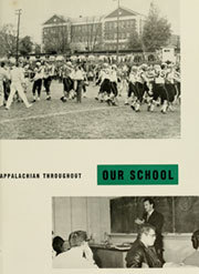 Page 15, 1959 Edition, Appalachian State University - Rhododendron Yearbook (Boone, NC) online yearbook collection