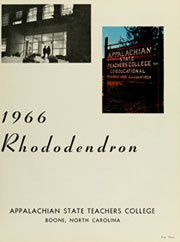Page 7, 1966 Edition, Appalachian State University - Rhododendron Yearbook (Boone, NC) online yearbook collection