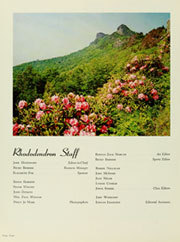 Page 8, 1966 Edition, Appalachian State University - Rhododendron Yearbook (Boone, NC) online yearbook collection