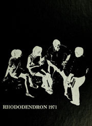 1971 Edition, Appalachian State University - Rhododendron Yearbook (Boone, NC)