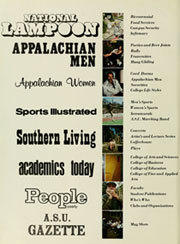 Page 6, 1976 Edition, Appalachian State University - Rhododendron Yearbook (Boone, NC) online yearbook collection