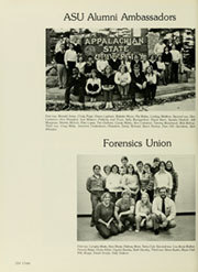 Page 218, 1981 Edition, Appalachian State University - Rhododendron Yearbook (Boone, NC) online yearbook collection