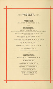 Page 16, 1879 Edition, Lehigh University - Epitome Yearbook (Bethlehem, PA) online yearbook collection