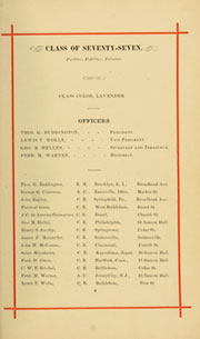 Page 17, 1879 Edition, Lehigh University - Epitome Yearbook (Bethlehem, PA) online yearbook collection