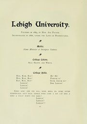 Page 14, 1898 Edition, Lehigh University - Epitome Yearbook (Bethlehem, PA) online yearbook collection