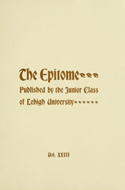 Page 7, 1899 Edition, Lehigh University - Epitome Yearbook (Bethlehem, PA) online yearbook collection