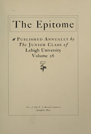 Page 9, 1902 Edition, Lehigh University - Epitome Yearbook (Bethlehem, PA) online yearbook collection