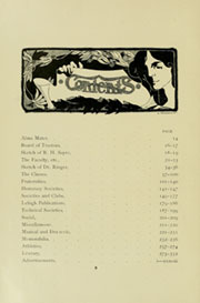 Page 10, 1907 Edition, Lehigh University - Epitome Yearbook (Bethlehem, PA) online yearbook collection