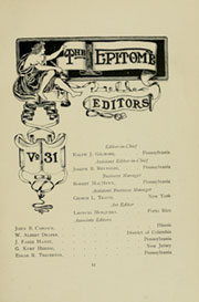 Page 15, 1907 Edition, Lehigh University - Epitome Yearbook (Bethlehem, PA) online yearbook collection