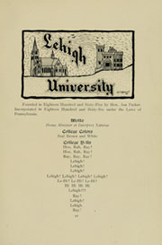 Page 17, 1907 Edition, Lehigh University - Epitome Yearbook (Bethlehem, PA) online yearbook collection