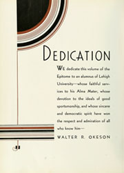 Page 10, 1934 Edition, Lehigh University - Epitome Yearbook (Bethlehem, PA) online yearbook collection