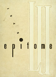 Page 1, 1949 Edition, Lehigh University - Epitome Yearbook (Bethlehem, PA) online yearbook collection