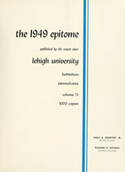 Page 5, 1949 Edition, Lehigh University - Epitome Yearbook (Bethlehem, PA) online yearbook collection