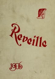 1906 Edition, University of Maryland College Park - Terrapin / Reveille Yearbook (College Park, MD)