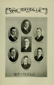 Page 13, 1917 Edition, University of Maryland College Park - Terrapin / Reveille Yearbook (College Park, MD) online yearbook collection
