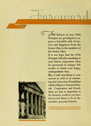 Page 12, 1936 Edition, University of Maryland College Park - Terrapin / Reveille Yearbook (College Park, MD) online yearbook collection