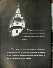 Page 8, 1949 Edition, University of Maryland College Park - Terrapin / Reveille Yearbook (College Park, MD) online yearbook collection