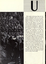 Page 10, 1952 Edition, University of Maryland College Park - Terrapin / Reveille Yearbook (College Park, MD) online yearbook collection
