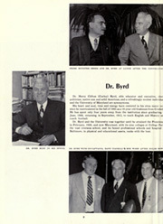 Page 12, 1952 Edition, University of Maryland College Park - Terrapin / Reveille Yearbook (College Park, MD) online yearbook collection