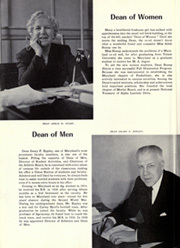 Page 16, 1952 Edition, University of Maryland College Park - Terrapin / Reveille Yearbook (College Park, MD) online yearbook collection