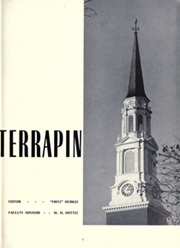 Page 5, 1952 Edition, University of Maryland College Park - Terrapin / Reveille Yearbook (College Park, MD) online yearbook collection