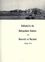 Page 7, 1952 Edition, University of Maryland College Park - Terrapin / Reveille Yearbook (College Park, MD) online yearbook collection