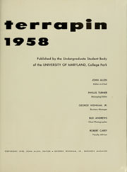 Page 5, 1958 Edition, University of Maryland College Park - Terrapin / Reveille Yearbook (College Park, MD) online yearbook collection